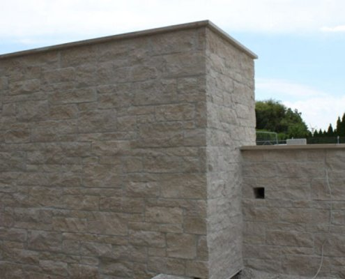 Steinmauer natursteinmauer