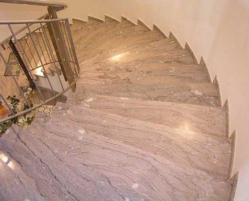 Steinstiege Steintreppe